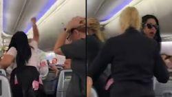 Wilde furie slaat met laptop op haar vriend omdat hij in vliegtuig naar andere vrouw gekeken had