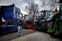 Boeren demonstreren in Den Haag tegen het stikstofbeleid van het kabinet.