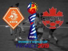 Nederland gaat tegen Canada voor eerste plaats in Groep E