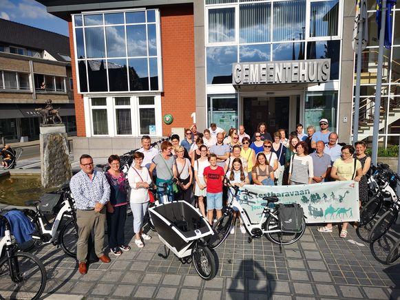 In Lendelede kunnen 25 inwoners de komende week kennismaken met elektrische fietsen.
