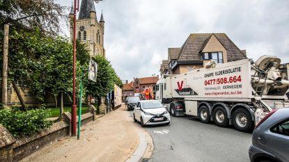 Trucks gebruiken dorpen als sluipwegen