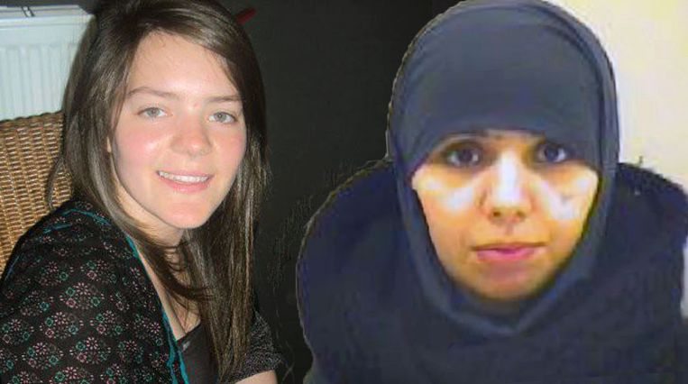 Tatiana Wielandt (25) en haar schoonzus Bouchra Abouallal (25).