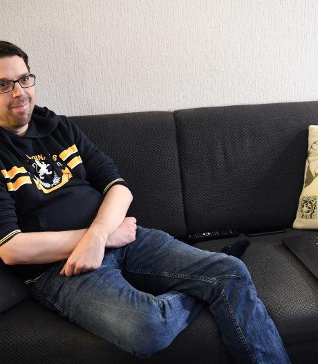 Sinds maart (!) de deur niet uit om fatale besmetting te vermijden: nierpatiënt Ivo uit Tilburg hoopt op snel vaccin