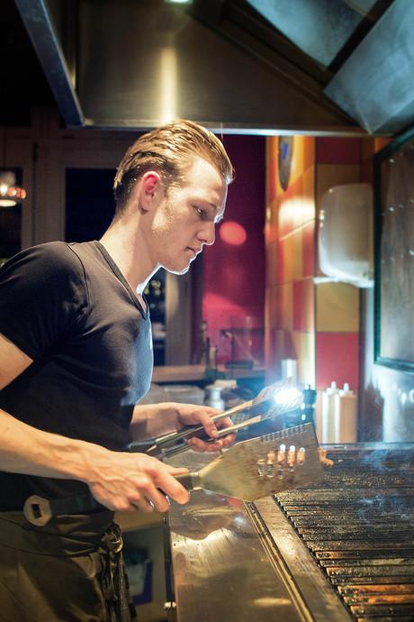 Marc's BarBQ in Nijmegen: Liefdeloze maaltijd