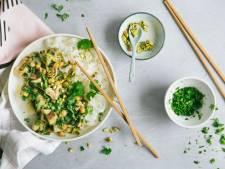 Thaise Groene Curry met een twist zonder dat je vlees mist!