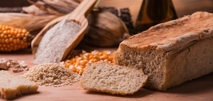 Er is steeds met glutenvrij voedsel te koop