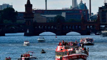 Vier gewonden door wildplasser op brug Berlijn