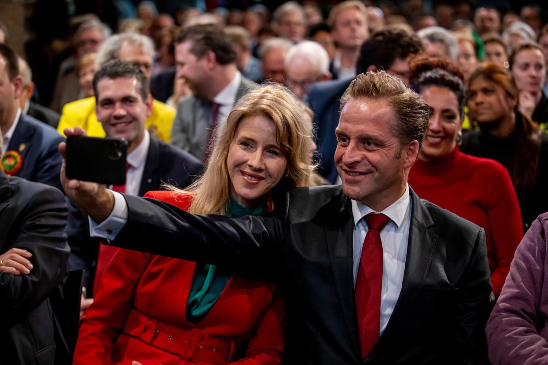Minister en vice-premier Hugo de Jonge en staatssecretaris Mona Keijzer.