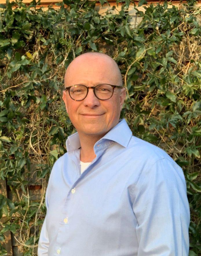 Directeur Erik van Ginhoven van De Blauwe Kamer/Koninklijke Visio