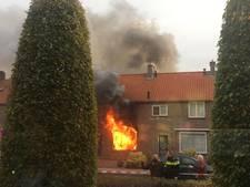 Brandweerman gewond bij uitslaande brand in Emmeloord