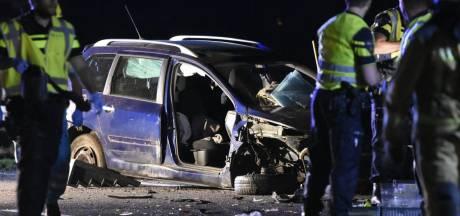 Ernstig verkeersongeluk door overstekende reeën