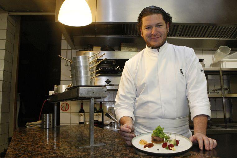 Chefkok Bart De Bondt van restaurant Bart De Bondt.