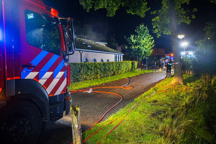 Brand in Boxtel.