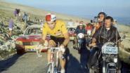 Eddy Merckx viert 72ste verjaardag op Mont Ventoux