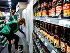 Geen alcohol vanaf 20.00 uur. Afzetlinten in supermarkt en snackbezorger ziet klantentrekker verdwijnen
