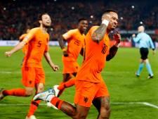 Memphis geniet van geweldige teamprestatie Oranje