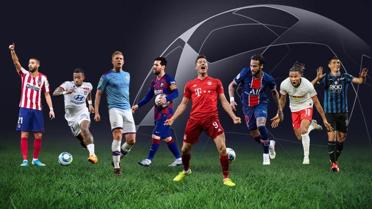 Wie van deze sterren pronkt op 23 augustus met de Champions League-trofee?