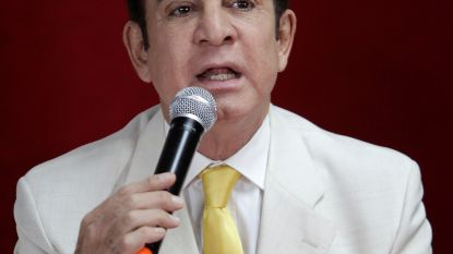 Oppositiekandidaat Honduras houdt symbolische eedaflegging