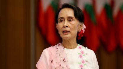 Onbekenden gooien molotovcocktail naar woning Aung San Suu Kyi in Myanmar