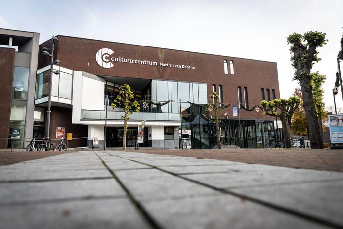 Het Cultuurcentrum in Deurne.