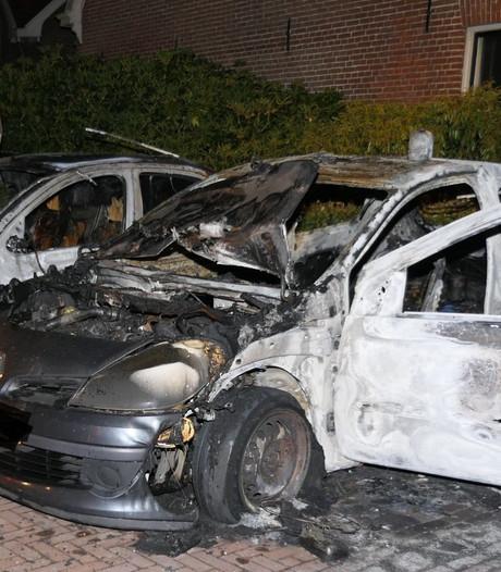 Meerdere auto's uitgebrand in Amersfoort
