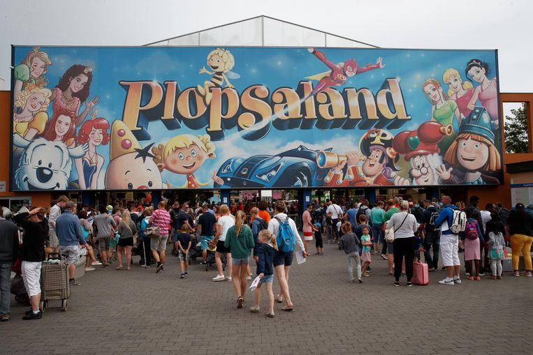 Plopsaland kende meerdere dagen met meer dan 10.000 bezoekers.