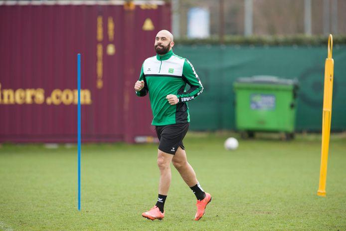 Training Cercle Brugge met Anthony Vanden Borre
