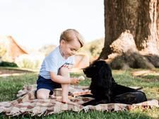 Prins George in september  naar gemengde privéschool