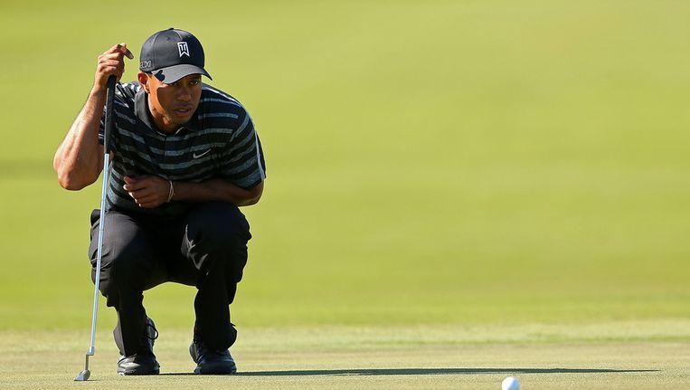 Tiger Woods. Beeld getty