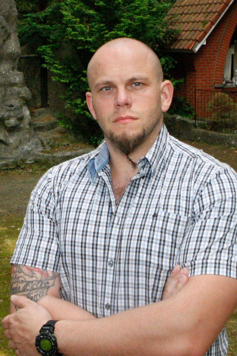 Fractieleider Nico Creces (Vlaams Belang).