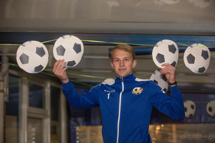 RKVVO-doelman Sven van den Oever.