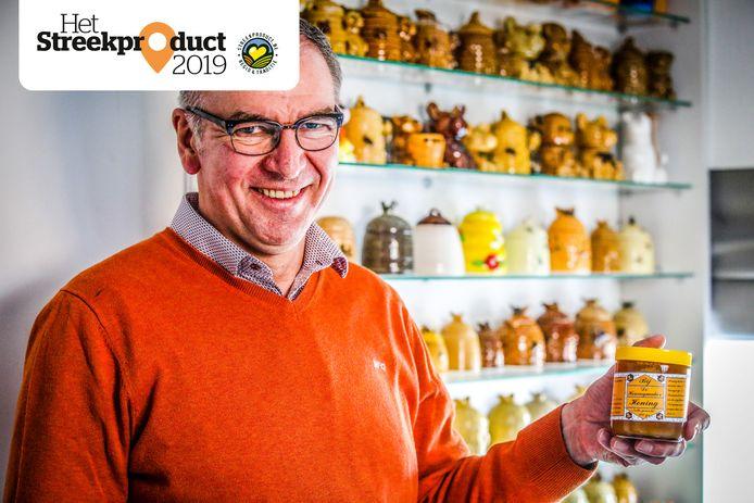 Daniël De Rycker mag fier zijn op zijn honing als Vlaams streekproduct.