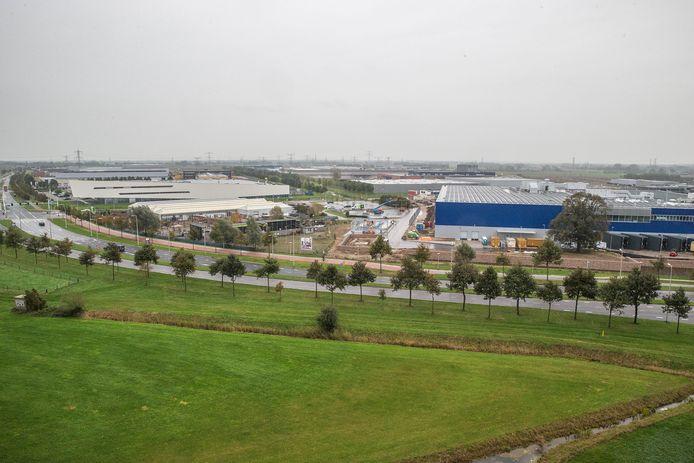 Industrieterrein Hessenpoort in Zwolle.