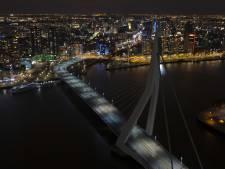 Lichten Erasmusbrug gaan uit voor Earth Hour