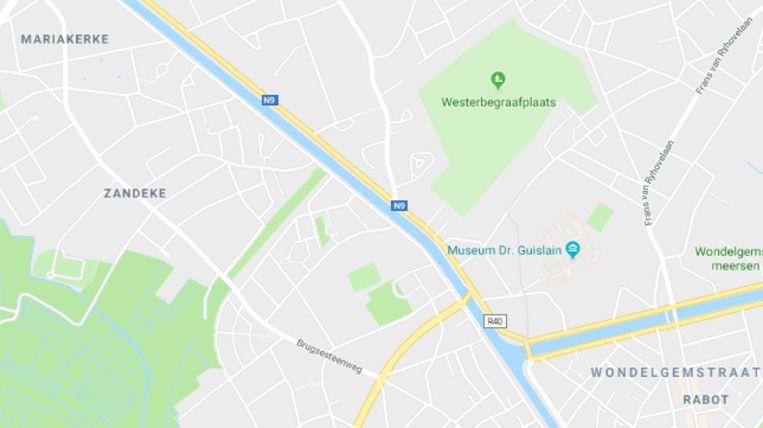 Het ging om een vijftigtal straten tussen het Rabot en Mariakerke.