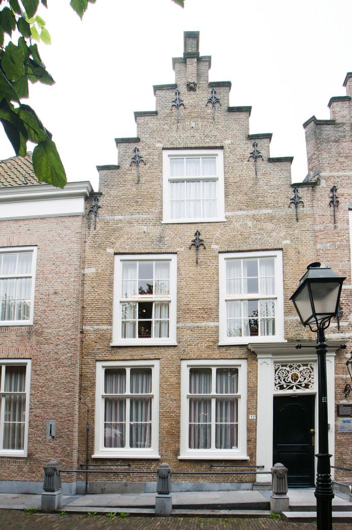 Het kantoor van WSG was al enige tijd bezit van de gemeente Geertruidenberg.