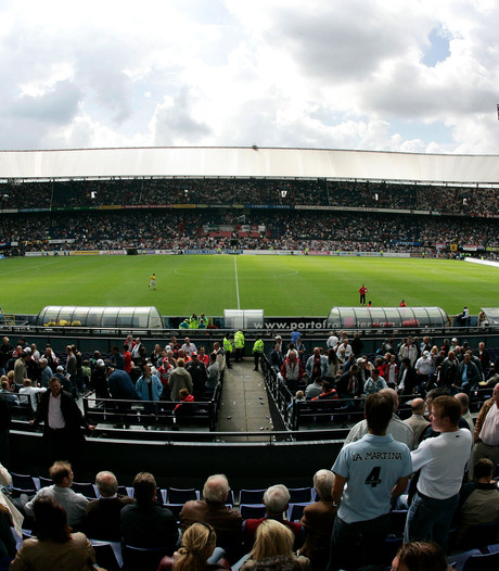 NAC in De Kuip gesteund door duizend fans