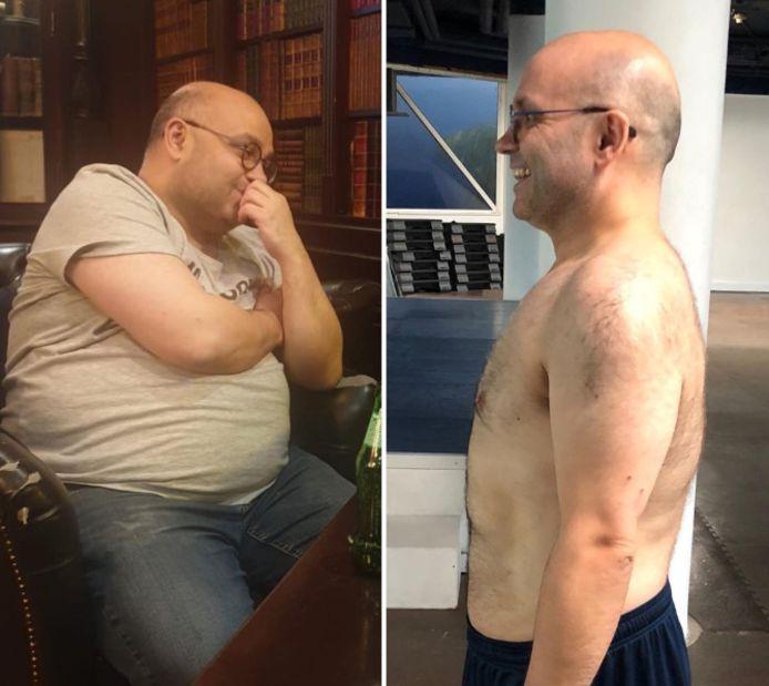Le journaliste a perdu plus de 20 kilos.