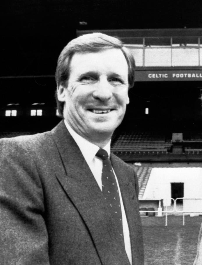 Billy McNeill in zijn periode als trainer van Celtic.