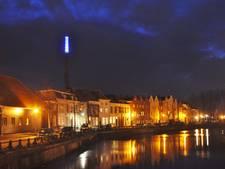 Verlichting Nedalcoschoorsteen Bergen op Zoom al maanden uit