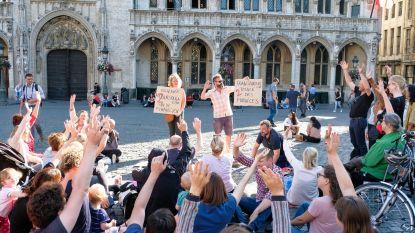 Brusselaars uiten ongenoegen met graaicultuur: Mayeur en Peraïta laten zich niet zien