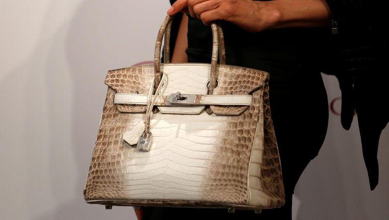 Een Hermes-tas van krokodillenleer. Beeld reuters