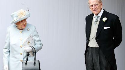 Britse Queen Elizabeth en prins Philip leiden aparte levens en ontbijten nooit meer samen