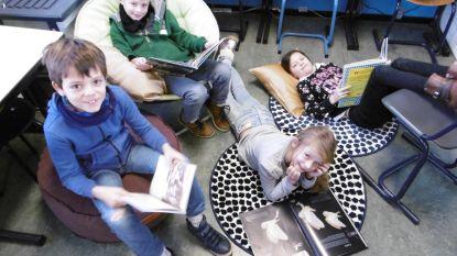 School De Regenboog Ertvelde laat kinderen twee keer per week lezen