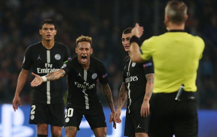 Later in 2018 floot Kuipers ook het CL-treffen tussen PSG en Napoli.