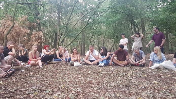 Zo'n veertig Europese jongeren die stotteren, verzamelen zich een week lang voor workshops in Lemele.