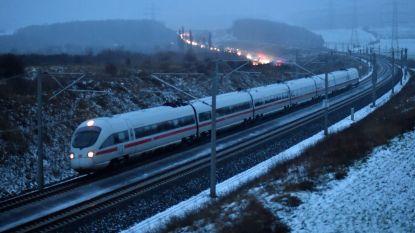 Duitse spoorwegen volledig lamgelegd wegens hevige storm