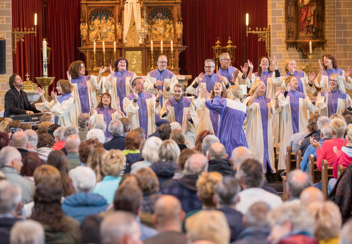 Het Elijah Gospel Choir.