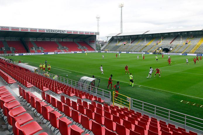 Antwerp kan zaterdagavond thuis tegen Moeskroen spelen op de Bosuil.