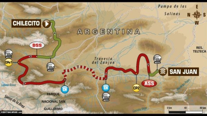 Dakar Rally etappe 10
